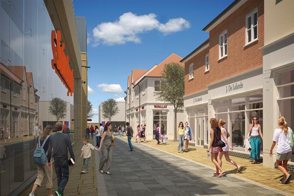 Bicester Town Centre Road Remodel Completed