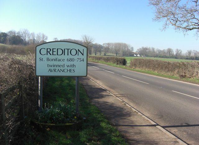 Work on Crediton Road Link Begins