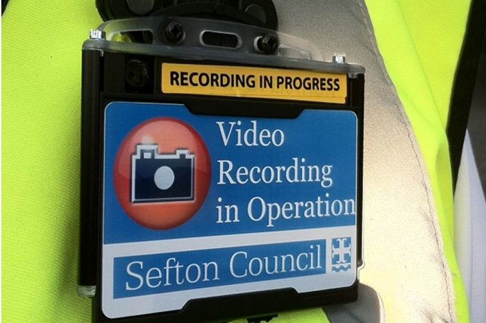 Road Workers Equipped with Body Cameras