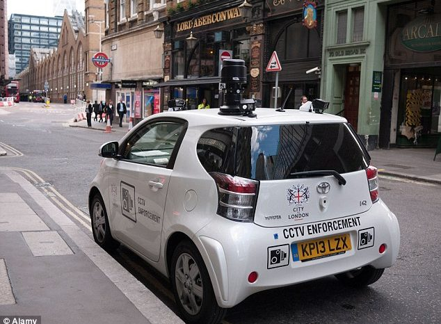 CCTV 'spy cars' Banned