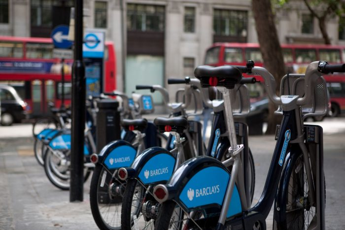 Free Barclays Cycle Hire This Weekend