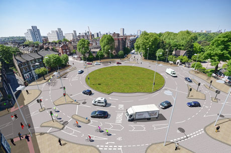 Is London's First Fully Segregated Roundabout Designed Right?