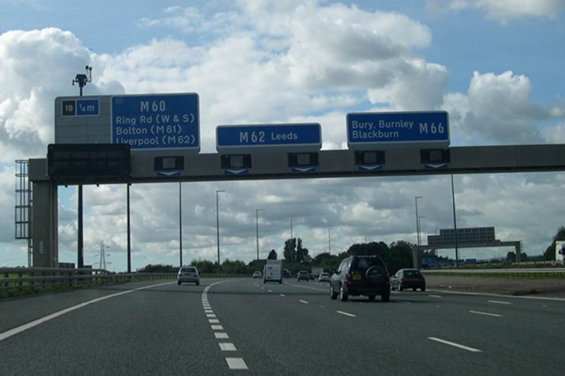 163 250m Smart Manchester Motorway Plans Revealed Highways