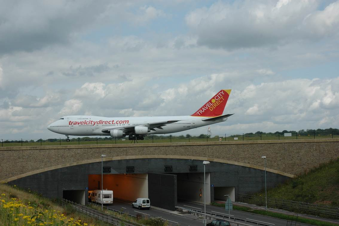 Spine Road Extension For Manchester Airport   Highways ...