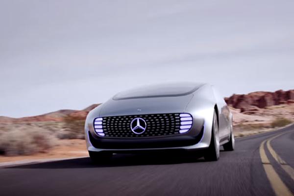 Driverless-Merc