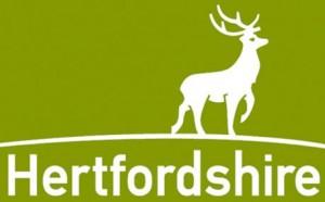 Herts CC logo