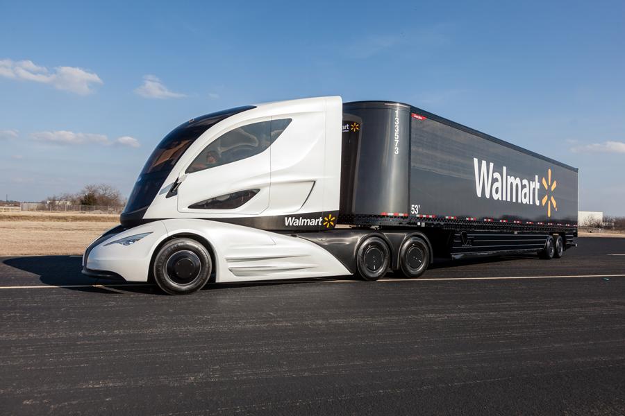 Wallmart-Lorry