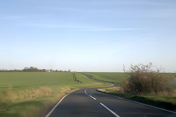 Country lanes are the most dangerous in the UK