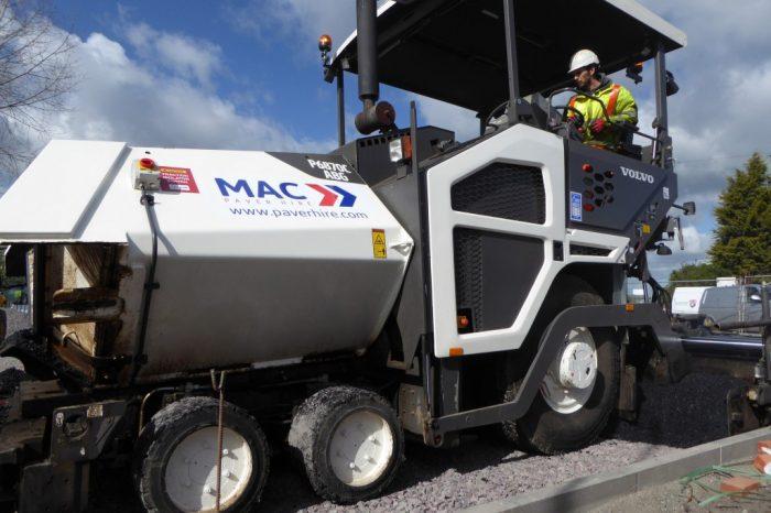 MAC Surfacing | Face lift for road surfacing hire company