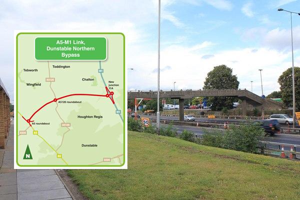 Work starts on new M1 junction