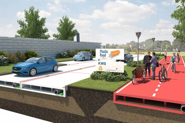 Around the globe | Rotterdam may be first city to build roads from plastic bottles