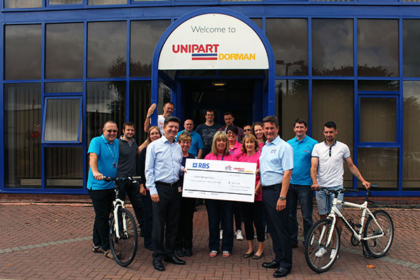 Unipart Dorman | Supporting Cyclists Fighting Cancer