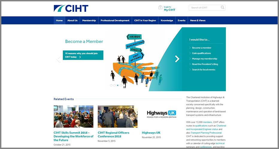 CIHT-Homepage