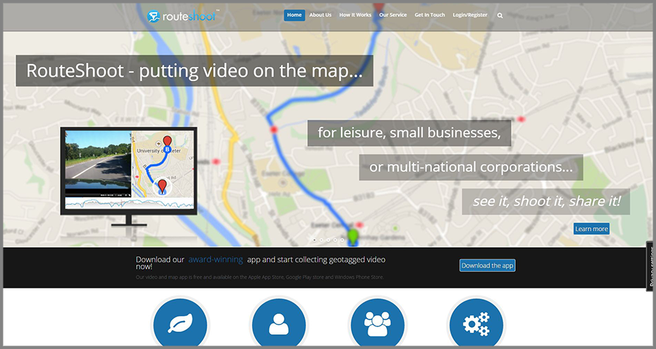 RouteShoot-Homepage