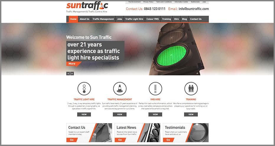 Suntraffic-Homepage