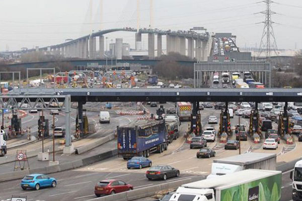 Traffic worse at Dartford Crossing after toll booths removed, say traders