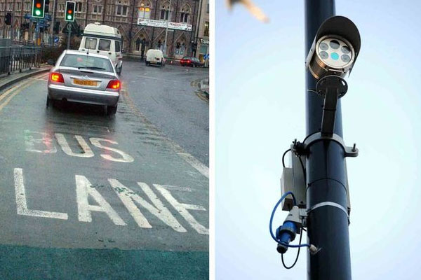 Fining drivers for using Cardiff's bus lanes has raised £2.2m within a year