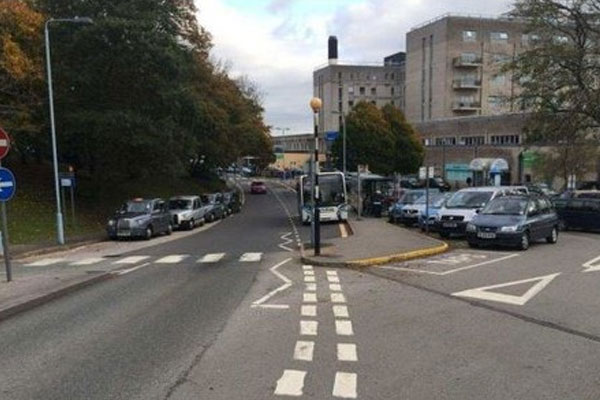 £2 million scheme will improve 200 metre stretch of road outside Derriford Hospital