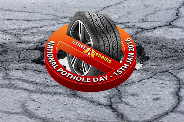 National Pothole Day 2016 brings hope to a public that's sick and tired of potholes