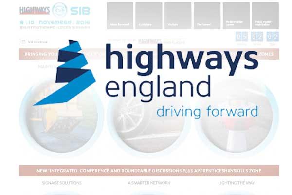 Highways England signs up for Highways SIB
