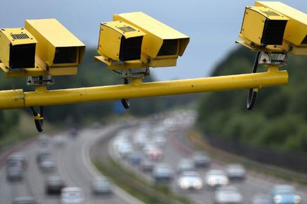 Average Speed Cameras are monitoring.......