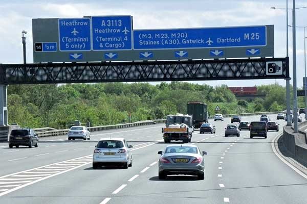 Double Deck the M25.........