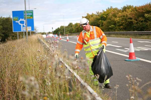 Litter-on-roads