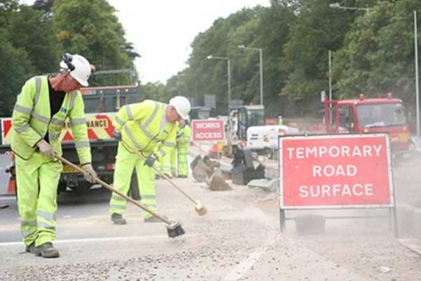 Unacceptable Abuse To Road Workers .......