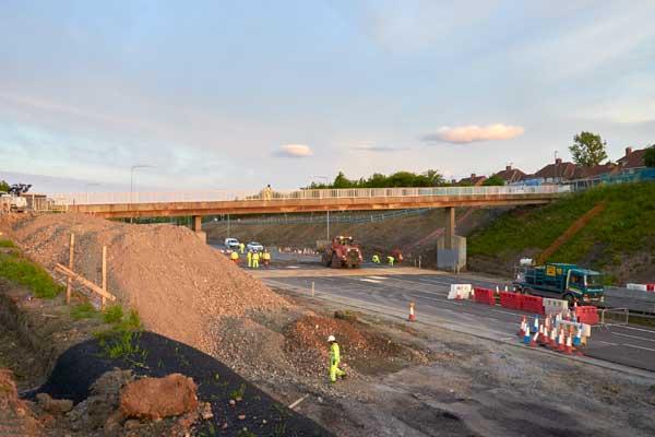 Transport Secretary officially opens £61 million A1 upgrade