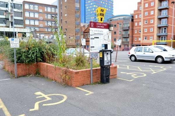 Leicester-Parking