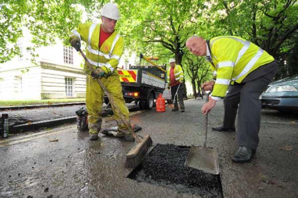 Potholes-Swansea