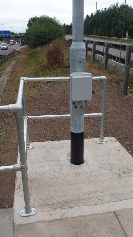 Crown Highways Install Radar System
