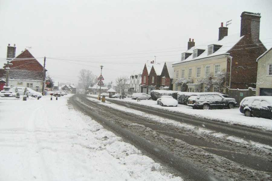 Hertfordshire's Gritters Ready For Action ......
