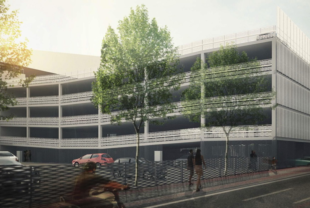 Photo: How the new multi-storey car park will look