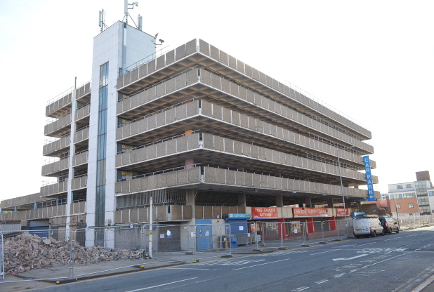 Photo: The old car park will be demolished