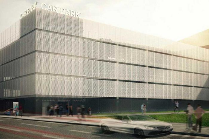 How the new multi-storey car park in Hull city centre will look