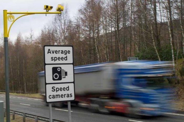 Nearly 500 drivers caught speeding on A90 near bypass work
