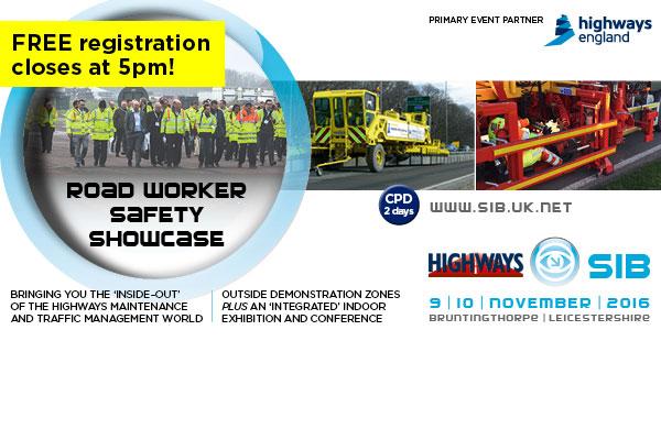 Highways SIB Road Worker Safety Showcase
