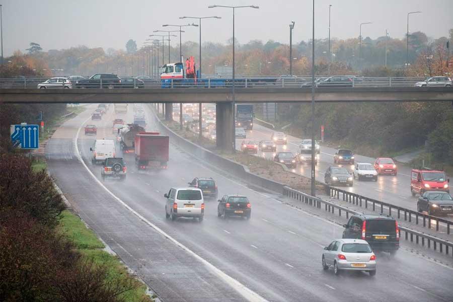 Road-raining