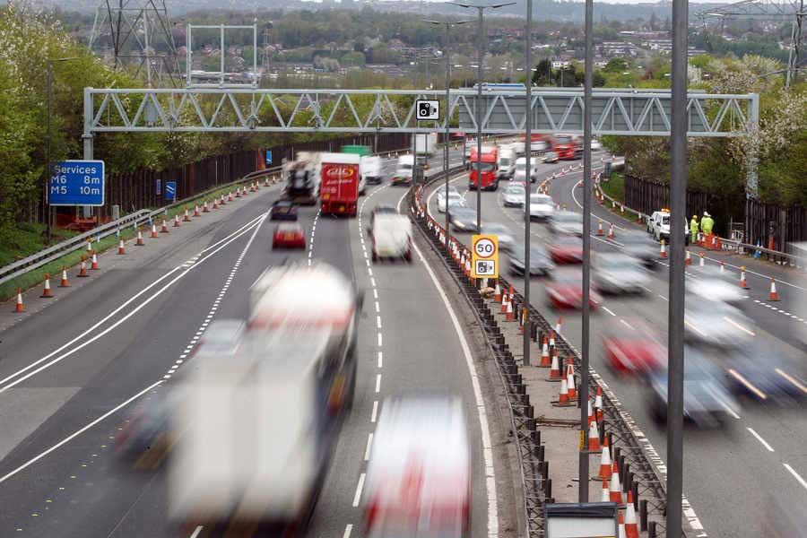 M6-Speed-Camera-Roadworks