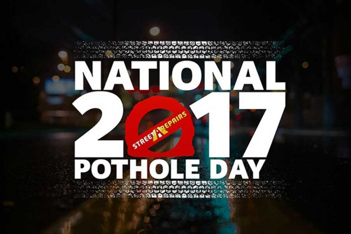 Third Annual National Pothole Day Announced