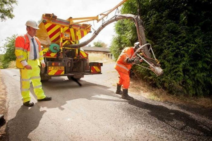 Councils welcome additional £1.8million to tackle potholes