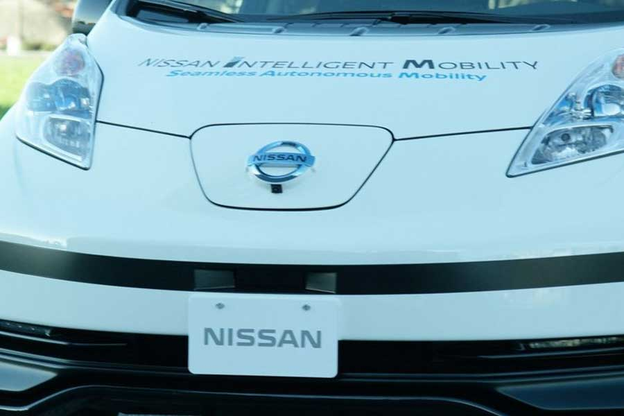 Self-Driving-Nissan