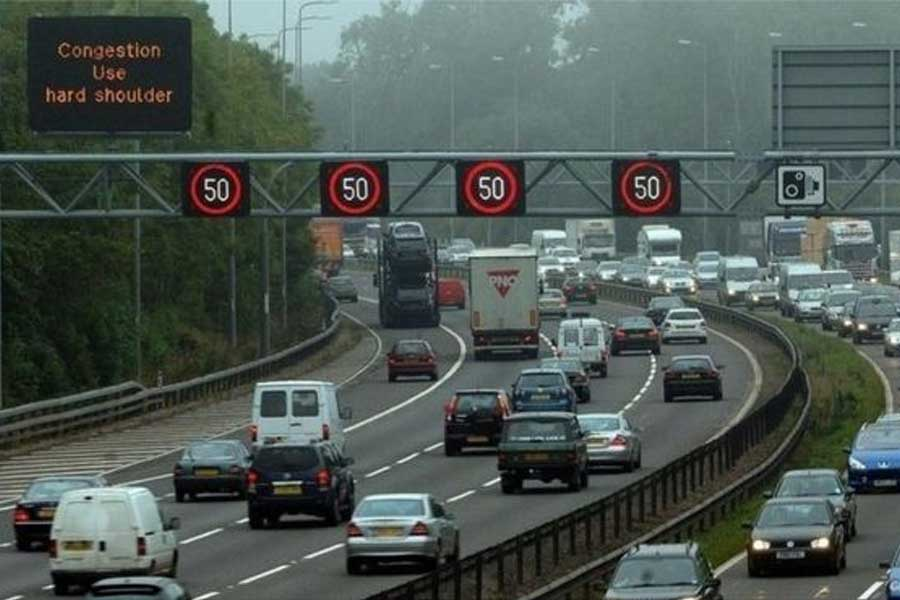 Drivers caught offending on smart motorways in England ....