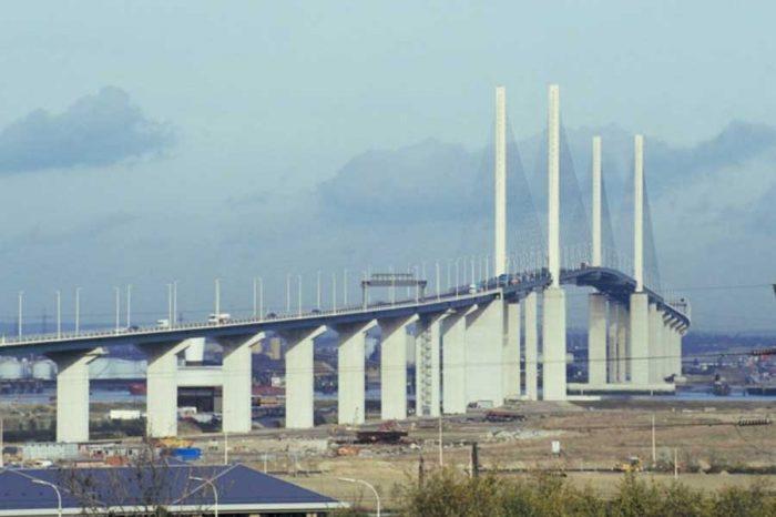 Dartford Crossing disruption as QEII bridge closes due to Storm Doris winds