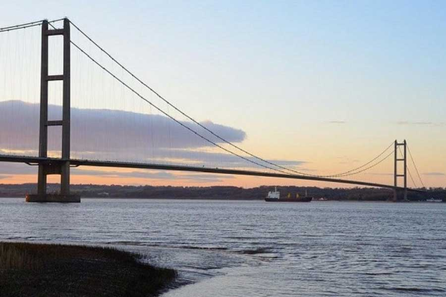 Image of the Humber Bridge