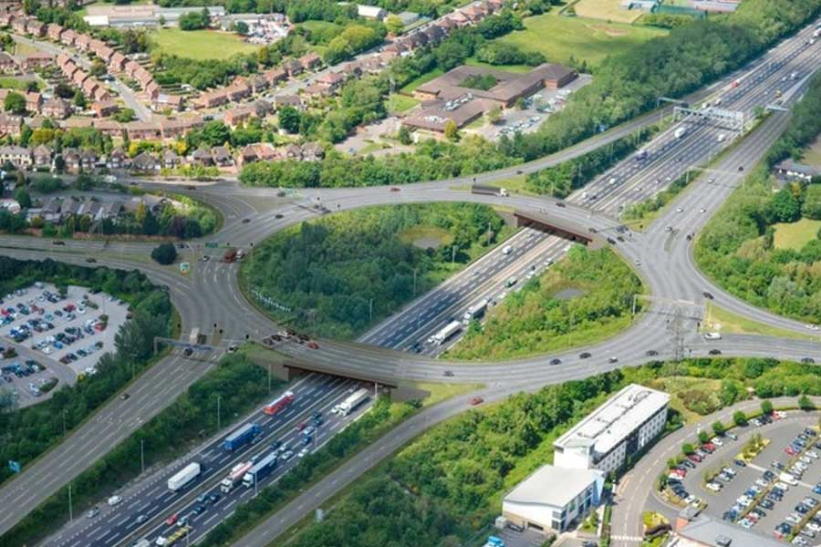 Image of M6 Junction 10