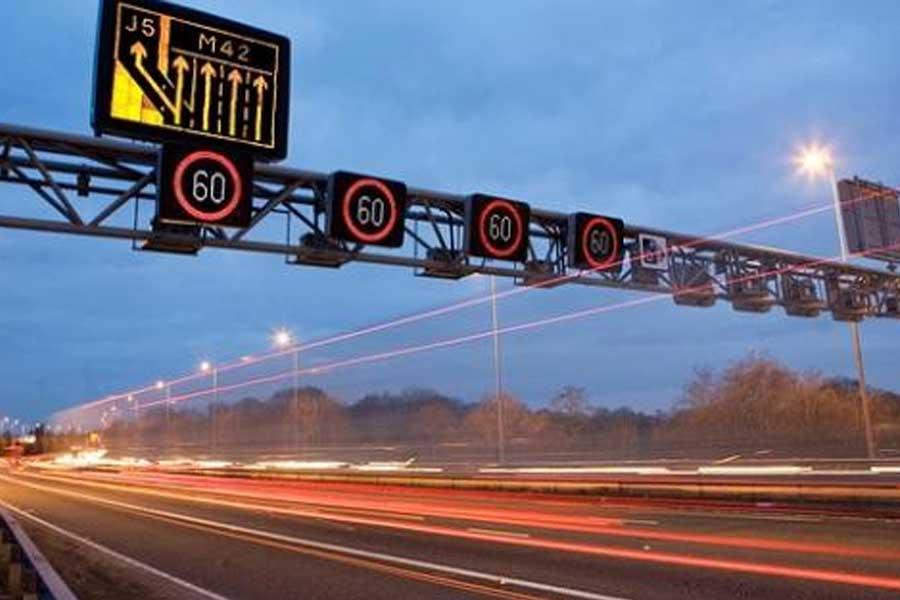 Motorway-Roadworks