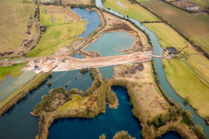 Three months progress of the A14 Cambridge to Huntington upgrade