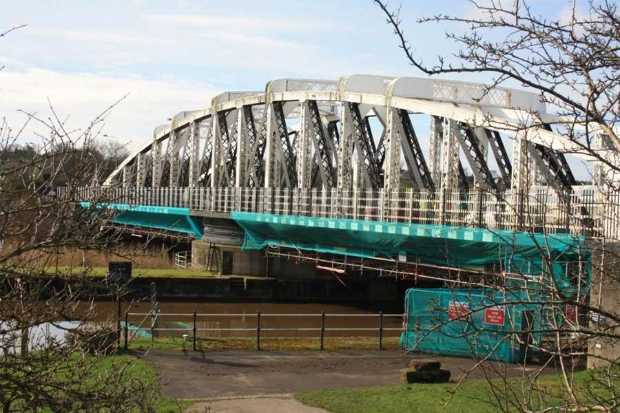 Image of Acton Swing Bridge